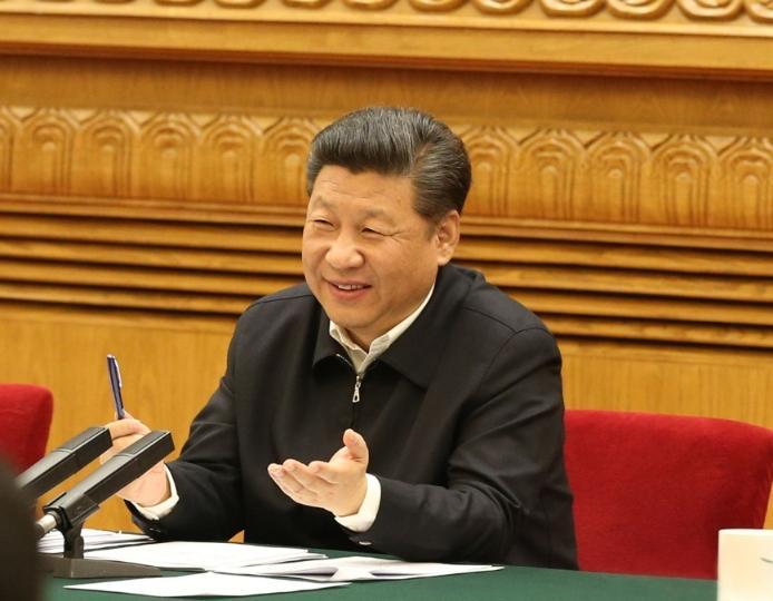 4月19日,习近平总书记在网信工作座谈会上发表重要讲话。新华社