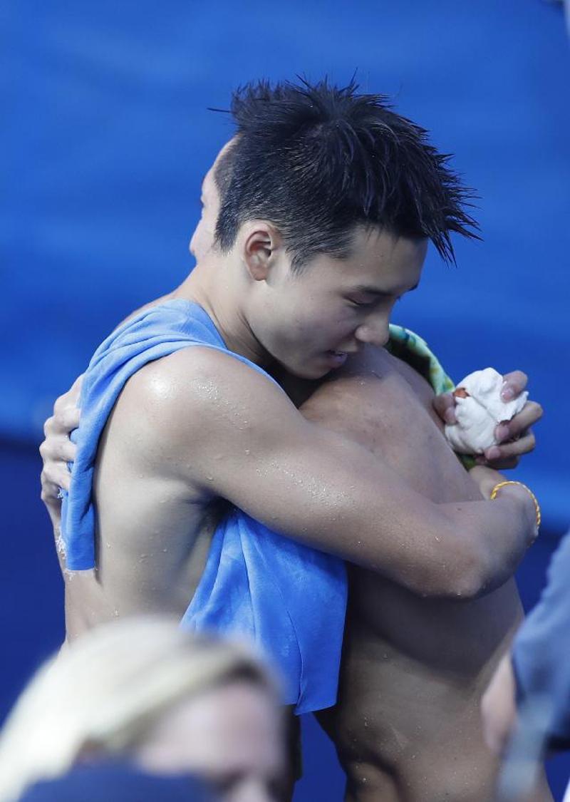 """第一次参加奥运会的陈艾森兴奋地说:""""太爽了,真的太爽了,因为从小就图片"""