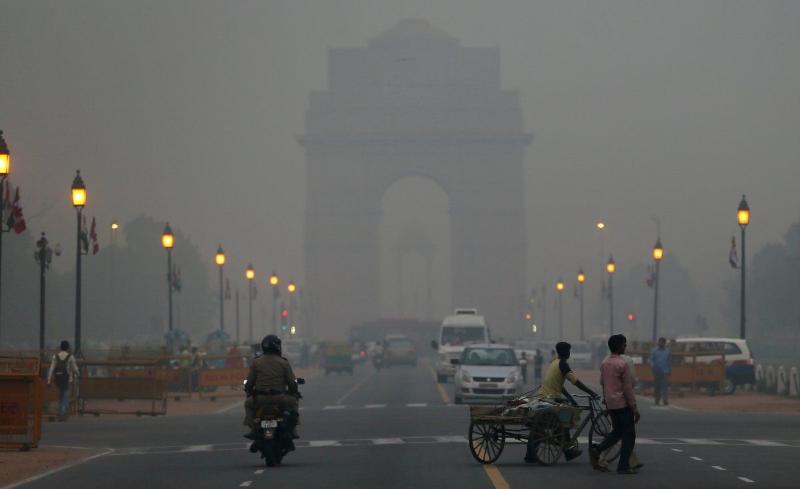 印度新德里12月天气_外媒:全球空气最差20城市,10个在印度4个在中国