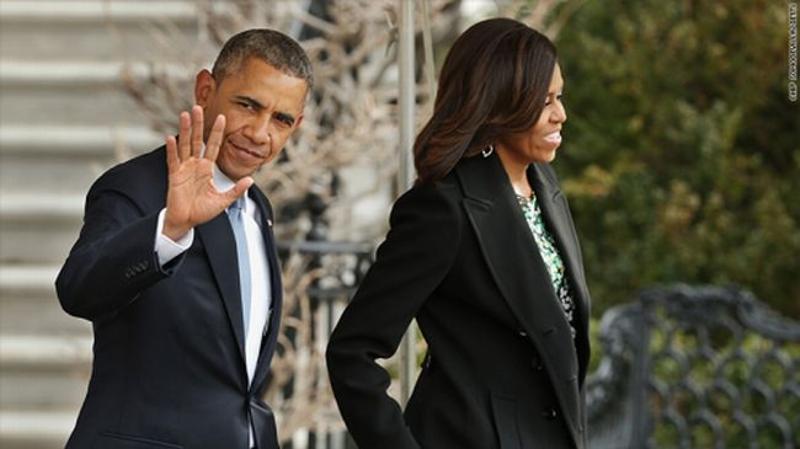 奥巴马夫妇获4.49亿稿酬,创美总统回忆录稿酬新高