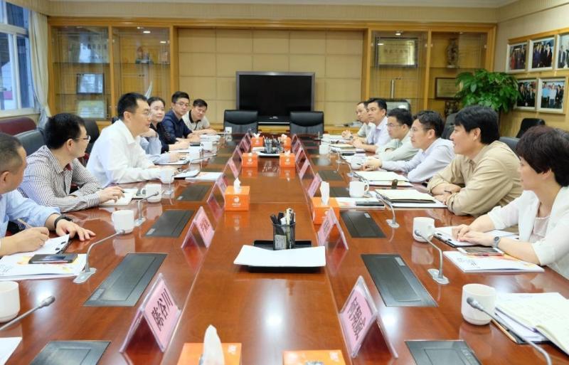 南方日报社社长_南方报业传媒集团主要领导到访北滘考察交流