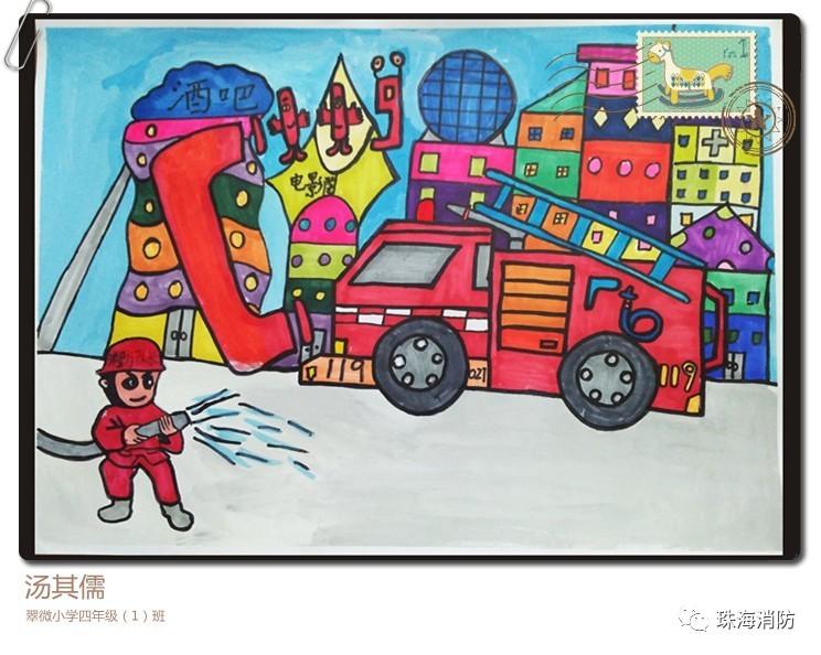 为了进一步提高少年儿童的消防安全意识,使少年儿童从小树立消防安全图片